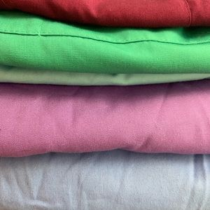Scrubs 4 small tall pants and two small tops